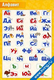 Плакат алфавит