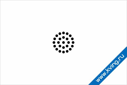 Плакат астигматический тест группы точек i