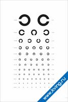 Таблица Головина — медицинский плакат