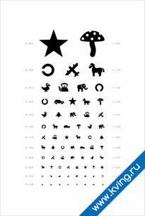 Плакат таблица орловой