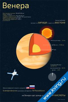 Плакат венера
